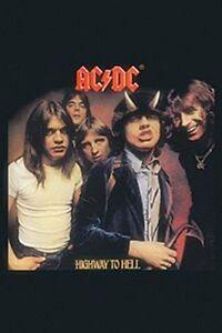 AC-Dc-Highway-To-Hell-Acero-Iman-de-Nevera-Cv