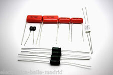 CAPACITOR KIT FOR FENDER VIBRO-CHAMP AA764 TUBE AMP - AMPLIFIER - AMPLIFICADOR
