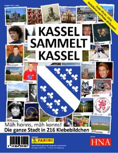 Panini Kassel recopila Kassel 10 bolsas//50 ciudades sticker serie