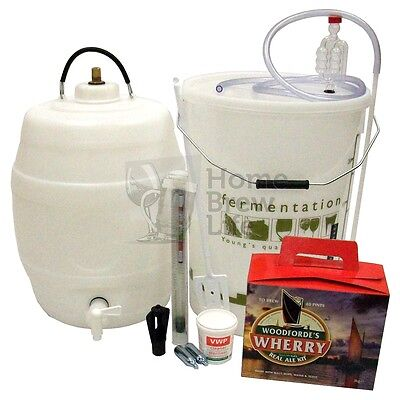 Woodfordes Micro Brewery Home Brew Real Ale Beer Kits - FULL RANGE