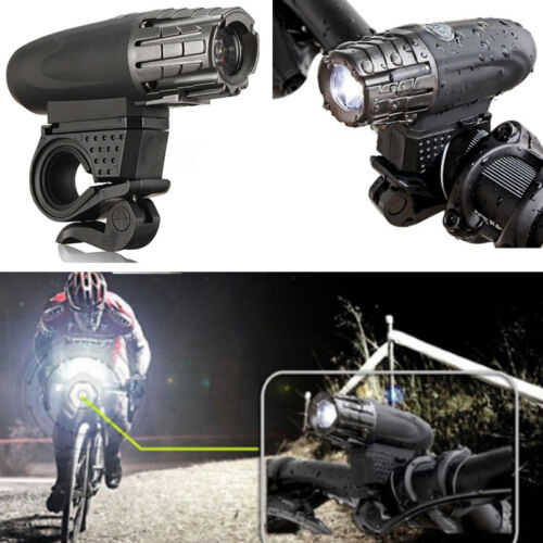 USB Rechargeable LED Bicycle Bright Bike Front Headlight Lamp Waterproof Light