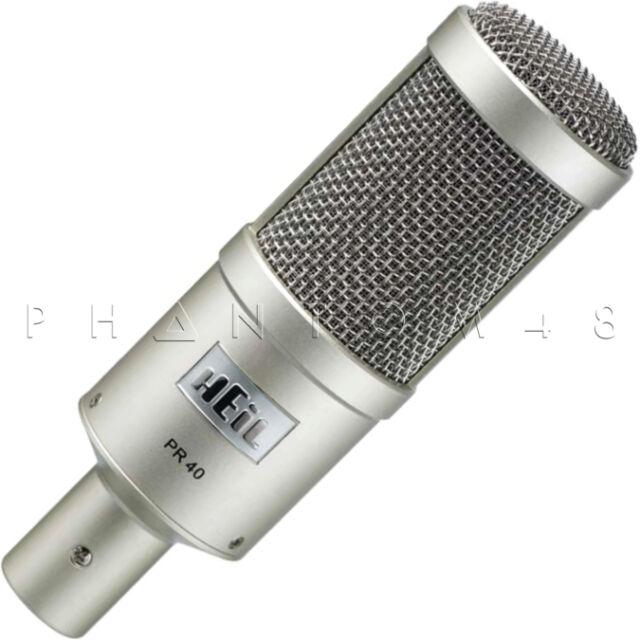 Heil Sound PR40 Dynamic Professional Broadcast/Instrument Microphone PR-40 - NEW