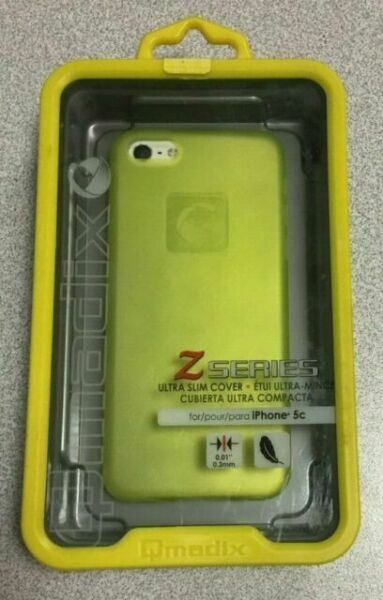 Qmadix Z Series Slim Case for iPhone 5c (yellow) for sale ...