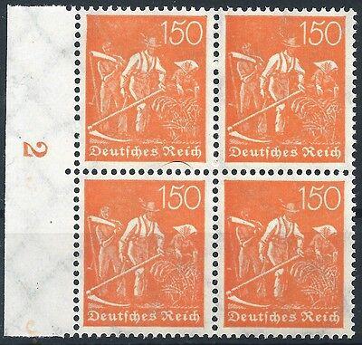 Minr 2 189 Im Viererblock Vom Linken Walzenseitenrand Postfrisch