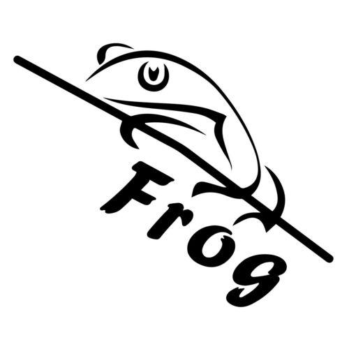 Sticker Vinyl Truck Laptop Window Bumper Skateboard Wall Glass Guitar Frog Decal