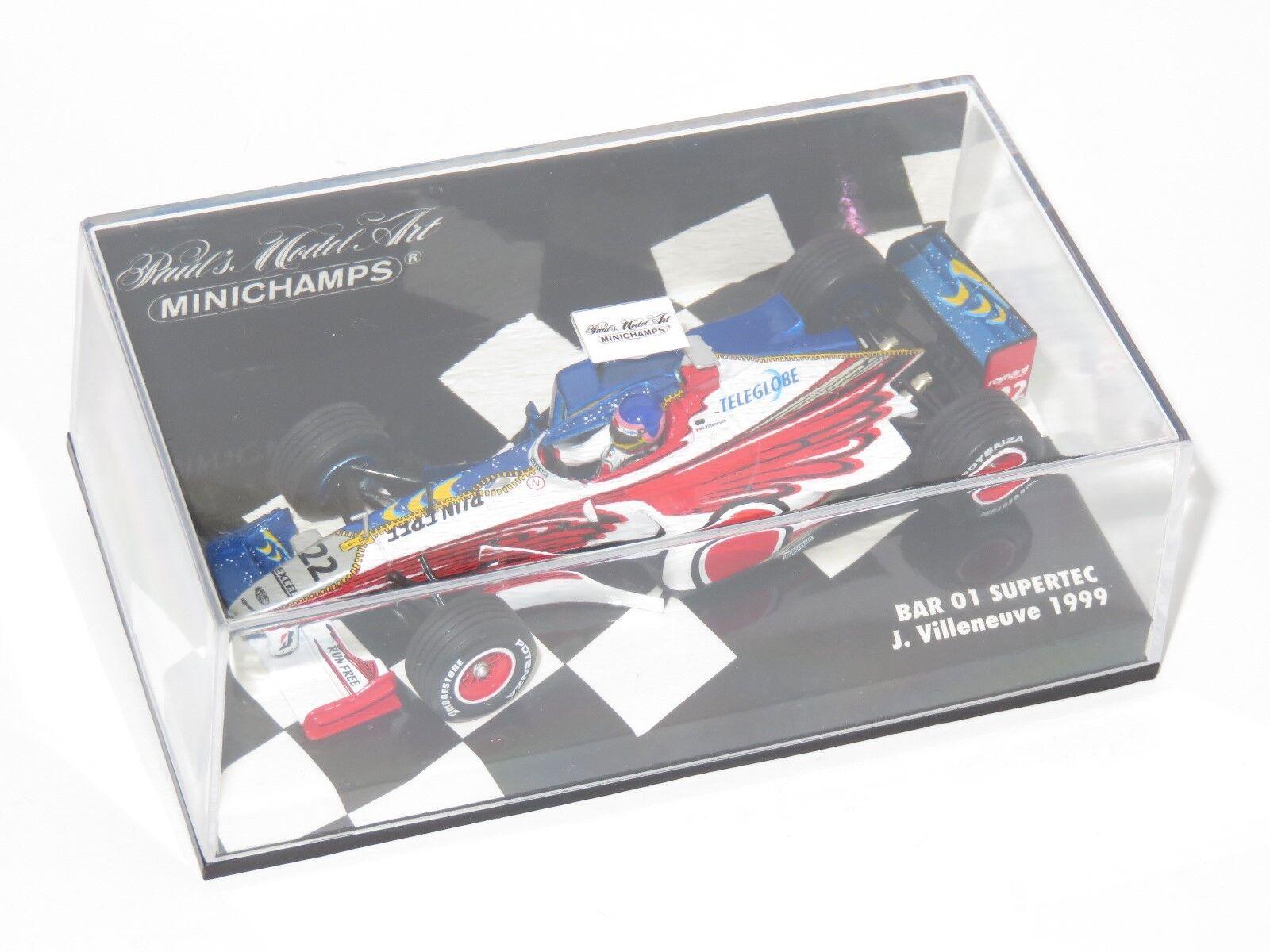 1 43 BAR 01 Supertec J.Villeneuve 1999 Season    Zip Design - 2 liveries