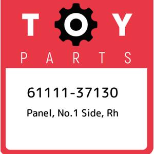 61111-37130-Toyota-Panel-no-1-side-rh-6111137130-New-Genuine-OEM-Part