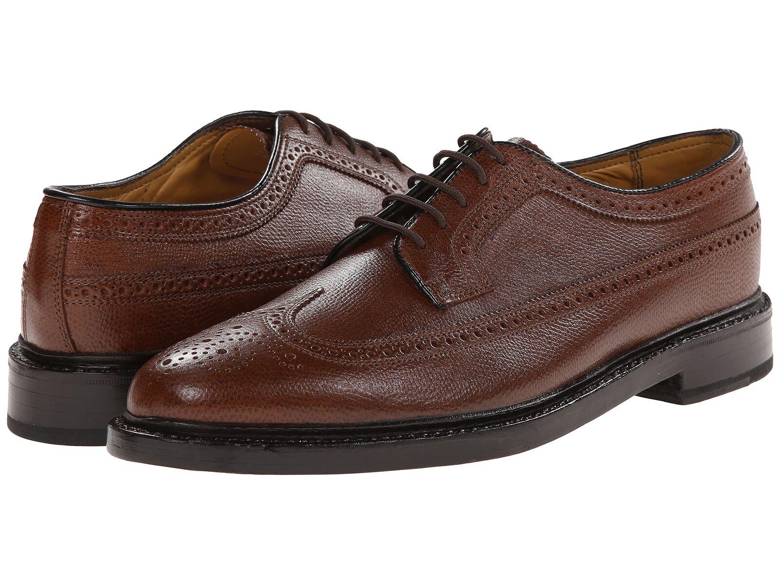 Florsheim Men's Kenmoor wing tip leather Cognac scarpe 17109-03