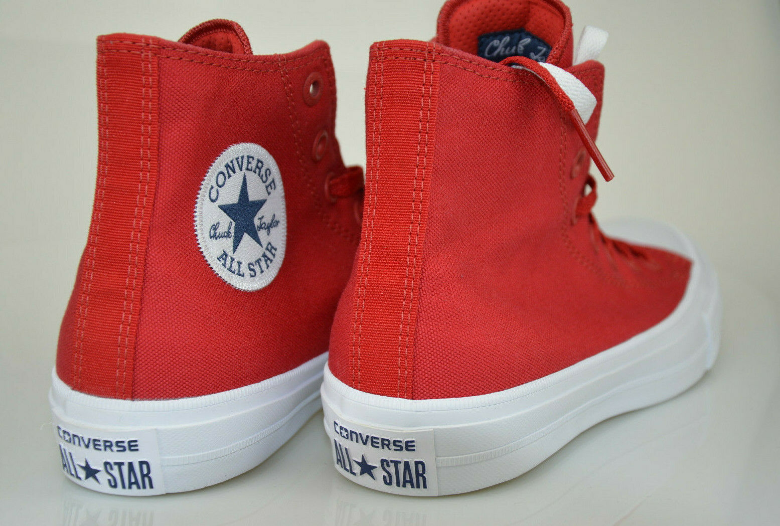 Converse Chuck Chuck Chuck Taylor AS II HI Sneaker High Top Salsa Red   White Unisex 150145C 1185be