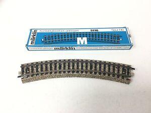 Marklin-5116-HO-Gauge-M-Gleis-gebogene-Kontakt-NEU