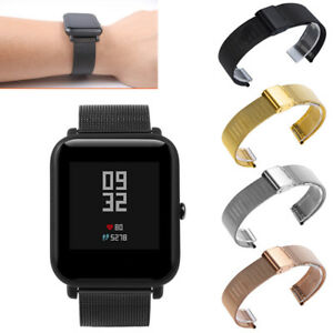 Milanese-Stainles-Steel-Bracelet-Watch-Bands-For-Huami-Amazfit-Bip-Youth-Watch