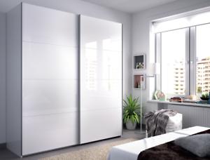 Image Is Loading Anita 2 Door Sliding Wardrobe Closet 180cm Extra