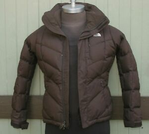 0382c584a Details about The North Face 600 Fill Goose Down Brown Puffer Jacket Size  Women's S/P