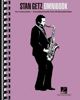 Stan Getz Omnibook Sheet Music for C Instruments Jazz Transcriptions 000130996