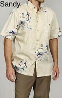 Hook & Tackle Men's Fish Charts Shirt-multicolor-sandy-small