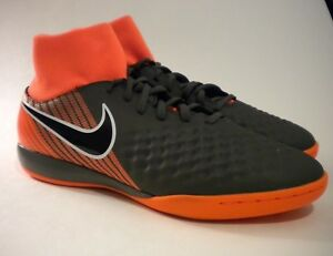 04415c201 Nike ObraX Magista 2 Academy Dark Grey Black Orange soccer AH7309 ...