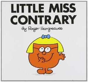 Little-Miss-Contrary-Little-Miss-Classic-Library-by-Roger-Hargreaves-Acceptab