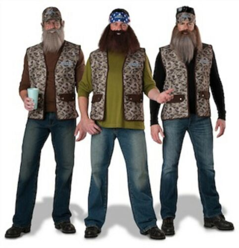 UNCLE SI BEARD TV SERIES NWT ADULT DUCK DYNASTY COSTUME WILLIE JASE