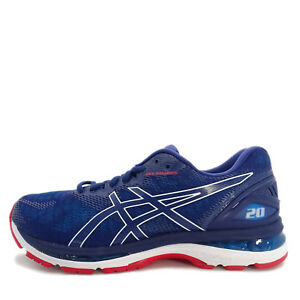 e412f4ec1135 Asics GEL-Nimbus 20  T800N-400  Men Running Shoes Navy Blue