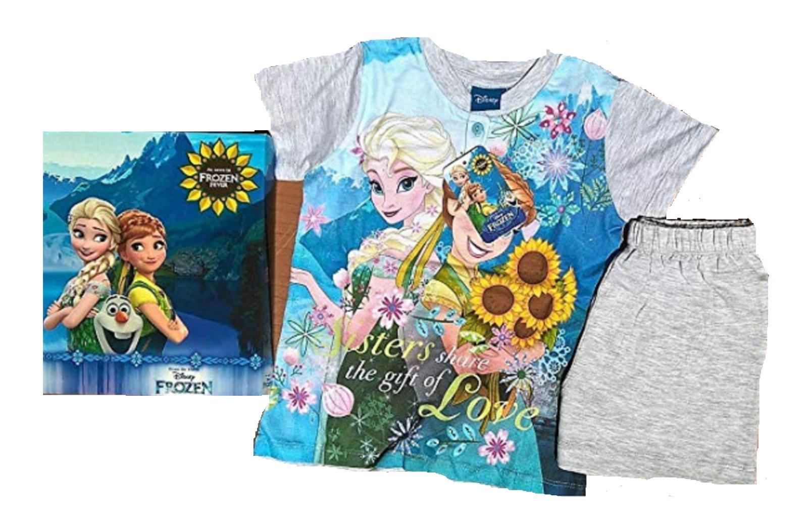 Rosa Frozen Anna e Elsa Pigiama/'s PJ /'S nuovo con etichetta
