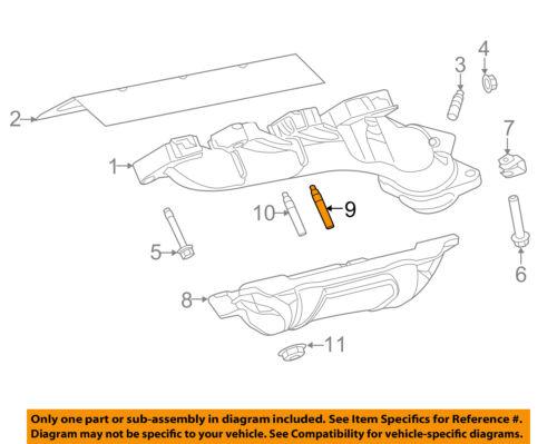 CHRYSLER OEM Exhaust Manifold-Exhaust Manifold Stud 6510141AA