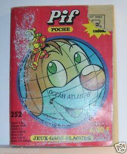 N-252-C-Libro-Banda-Comic-Bd-Made-IN-Francia-Arnal-162-Paginas-Pif-Bolsillo
