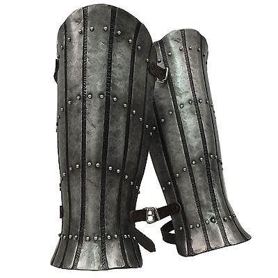 Larp Armour Splinted Greaves, legs, medieval, armor, viking, celtic, SCA,