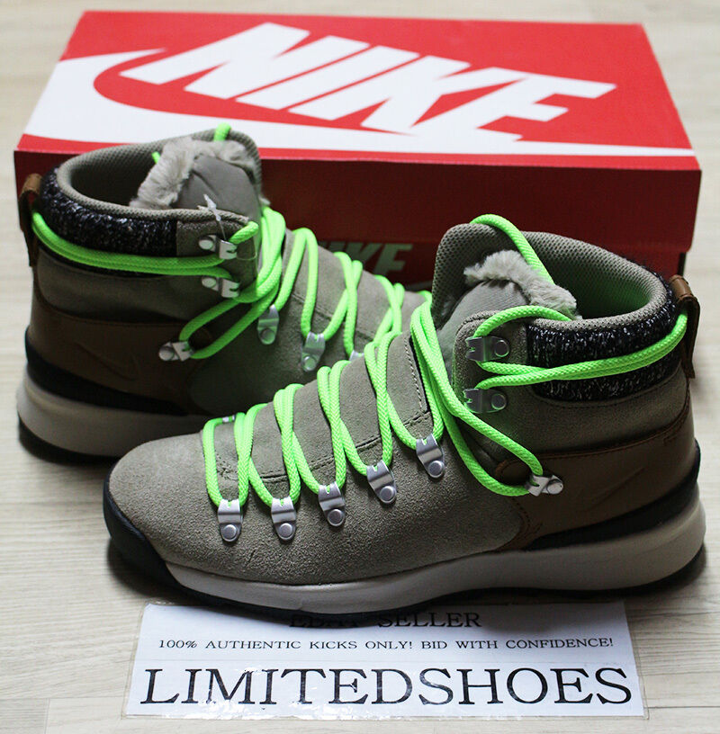 WMNS NIKE ZOOM MID ASTORIA 7 BAMBOO ALE BROWN OUTDOOR BOOTS 599489-222 US 7 ASTORIA grey 80e9b1
