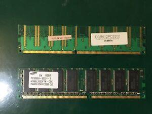 KIT MEMORIE RAM PER IMAC 512MB + 256MB DDR5 PC3200 400 MHZ FUNZIONANTI