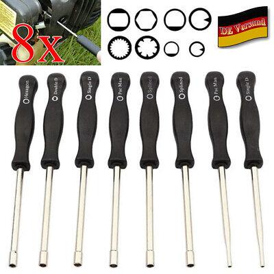 3tlg Vergaser Schraubendreher Einstellwerkzeug pac man Splined Double D Tool Set