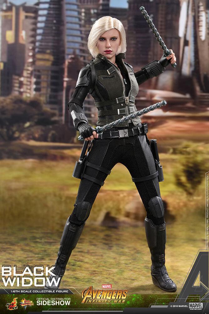 1 6 Vengadores viuda negra  Infinito Guerra MMS 460 Hot Juguetes 903470