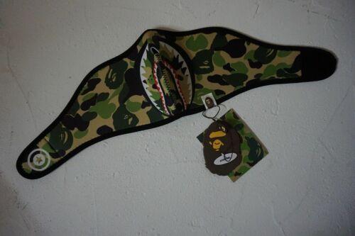 Bape A Bathing Ape Splice Camo Shark Head Blue Camouflage Hoodie Jacket Coat2019