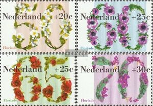 Audacious Netherlands 1203-1206 Unmounted Mint Never Hinged 1982 Floria complete Issue