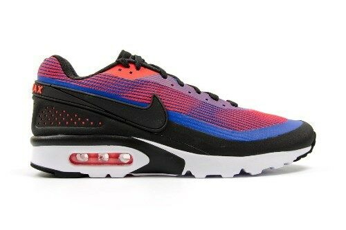Mens Nike Air Max BW Ultra KRCRD PRM bluee Crimson Black 819880 406 Size