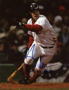 BILL-MUELLER-BOSTON-RED-SOX-SIGNED-AUTOGRAPHED-8X10-PHOTO-W-COA