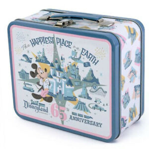 """Disneyland 65th Anniversary """"Happiest Place On Earth"""" Funko Lunchbox RARE"""