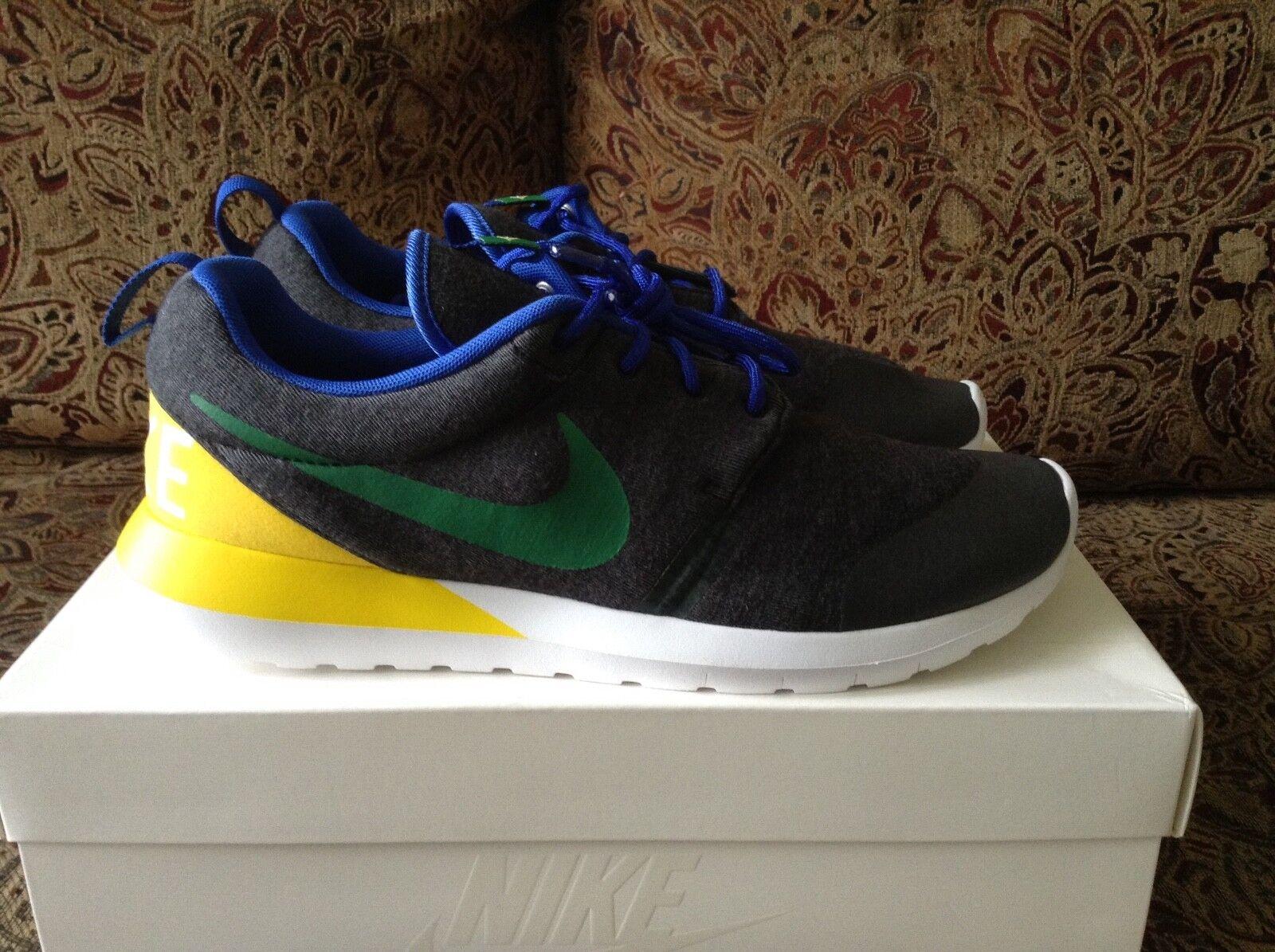 Nike Rosherun NM W SP Brazil 652804-037 Size 9