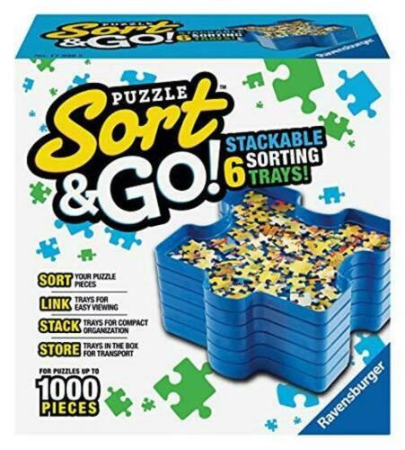 Ravensburger Sort And Go Jigsaw Puzzle Accessory Sturdy And Easy To Use Plasti