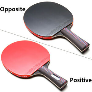 Carbon Fiber Table Tennis Racket Ping Pong Paddle Bat Long