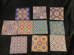 Lot 10 Autocollant Sticker Carrelage Ancien Marocain Relooking