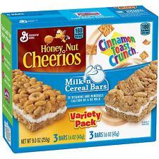 Honey Nut Cheerios™ and Cinnamon Toast Crunch™ Milk n Cereal Bars Treat Bar...