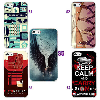 Unique Supernatural Collage Art Design Hard Case Cover For iphone 5 5s 4s