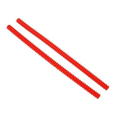 Silicone four Rack Edge Guards-Burn Protection Sécurité Bouclier Protecteur Q