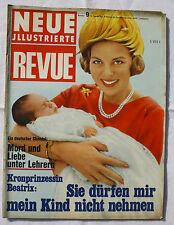 NEUE REVUE 1967 Nr. 9: Willy Brandt in USA / Kinder ermorden Kinder / Beatrix