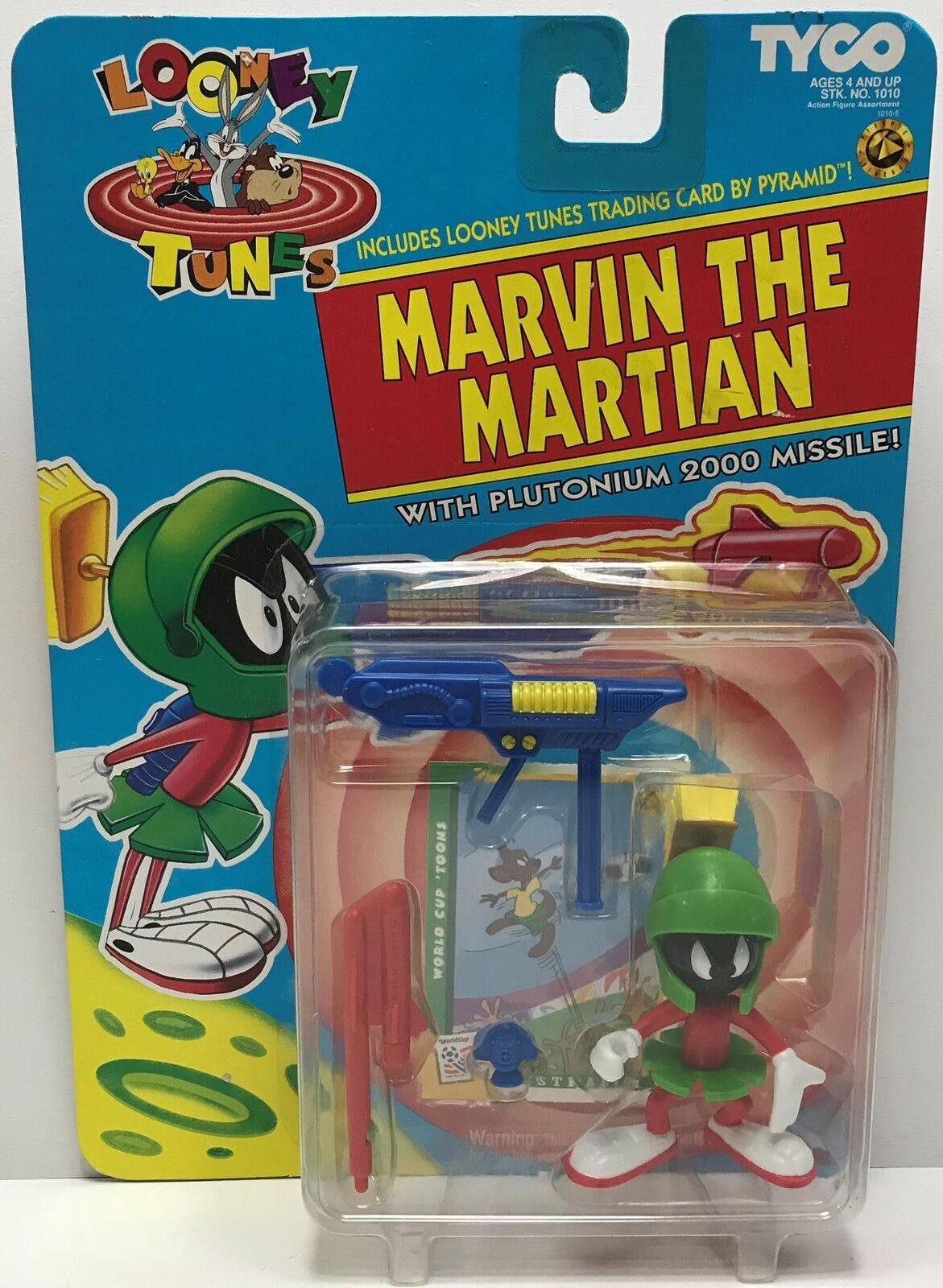 TAS040666 - 1993 Tyco Looney Tunes Marvin The Martian