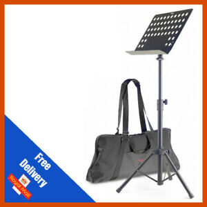 Stagg MUS-C5 T Heavy Duty Orchestral Lectern Conductor Sheet Music Stand Tripod