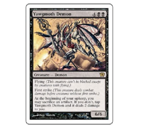 MTG Yawgmoth Demon 9th Edition 170//350 Rare NM Magic the Gathering 2005