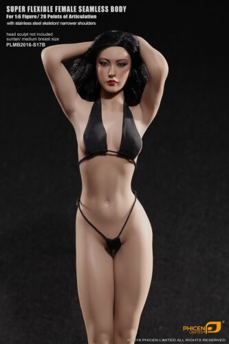 In-Stock 1//6 TBLeague Phicen Suntan Mid S17B For Hot toys 12in Action Figure