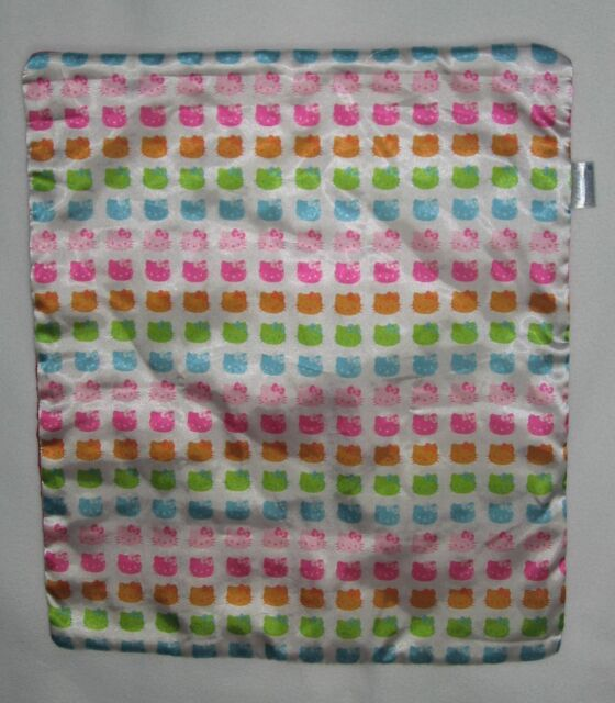 Build a Bear Workshop Hello Kitty Blanket Satin Pink 18x16 inches