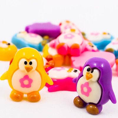 Cute Penguins Bird Flower Resin Scrapbooking Flatback Cabochons Craft DIY R0148